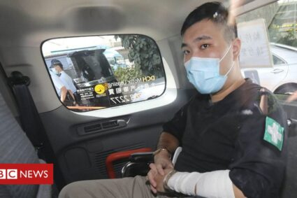 Hong Kong: First person jailed under security law given nine years